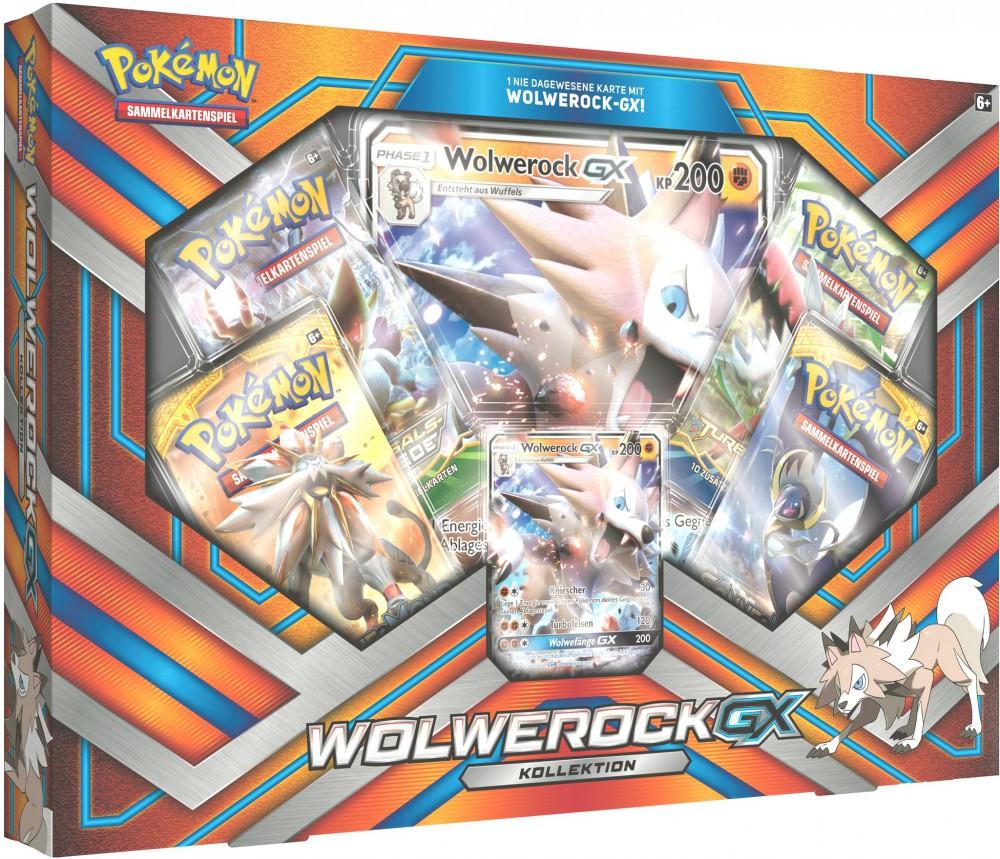 Pokmon Wolwerock-GX-Kollektion