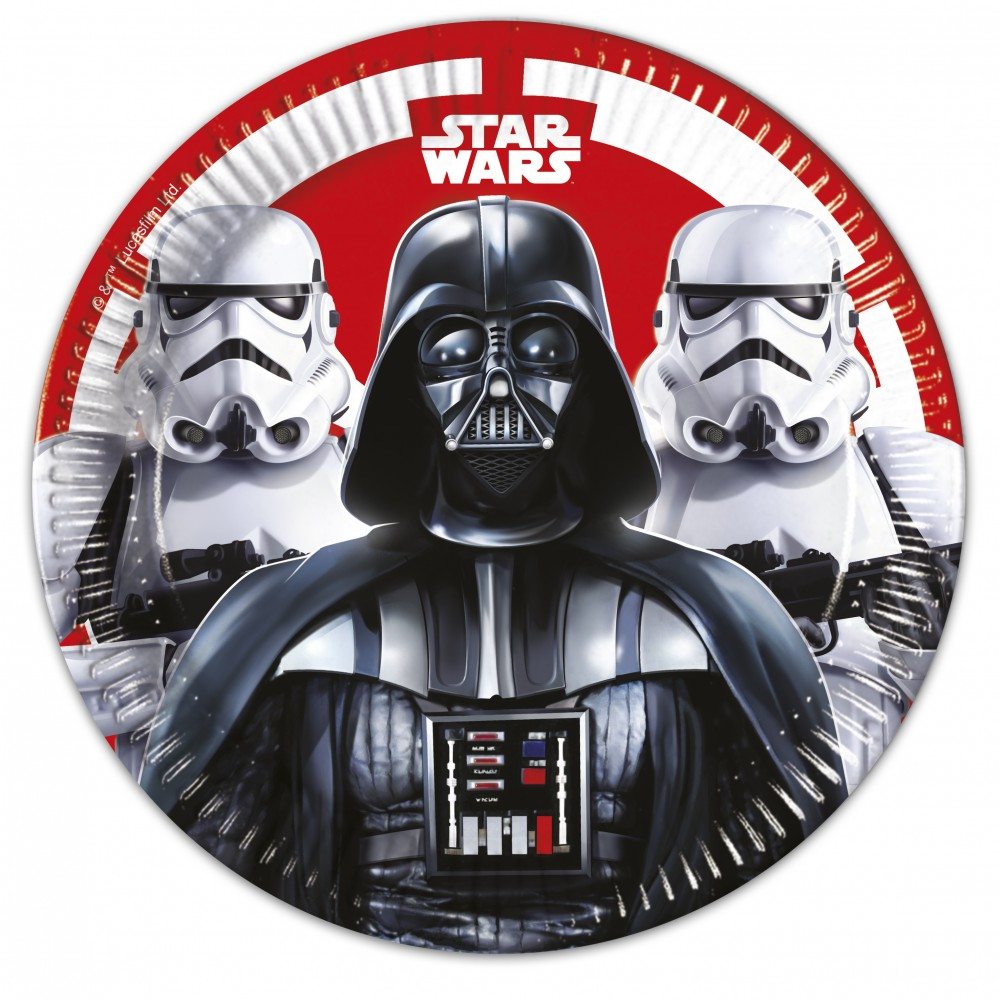 Star Wars Final Battle Pappteller 23cm