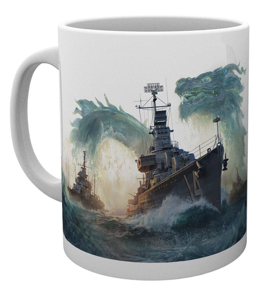 World of Warships Tasse - Dragons