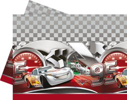 Cars Silver Edition Plastic Tablecover 120x180cm
