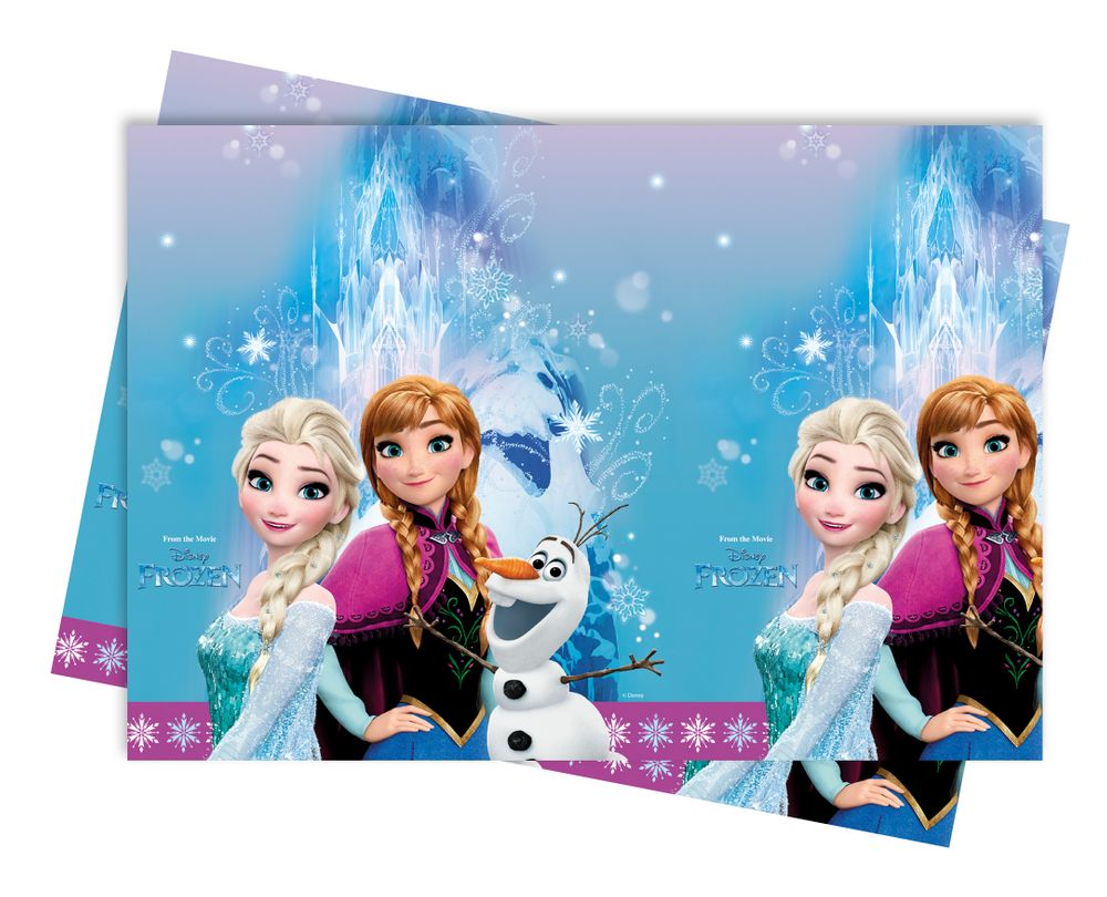 Frozen Nordlichter Kunststoff Tischdecke 120x180cm