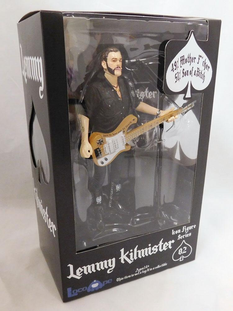 Motörhead Actionfigur Lemmy Kilmister Rickenbacker Guitar Cross 16 cm