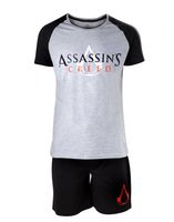Assassin's Creed - Core Logo Black and White Shortama M