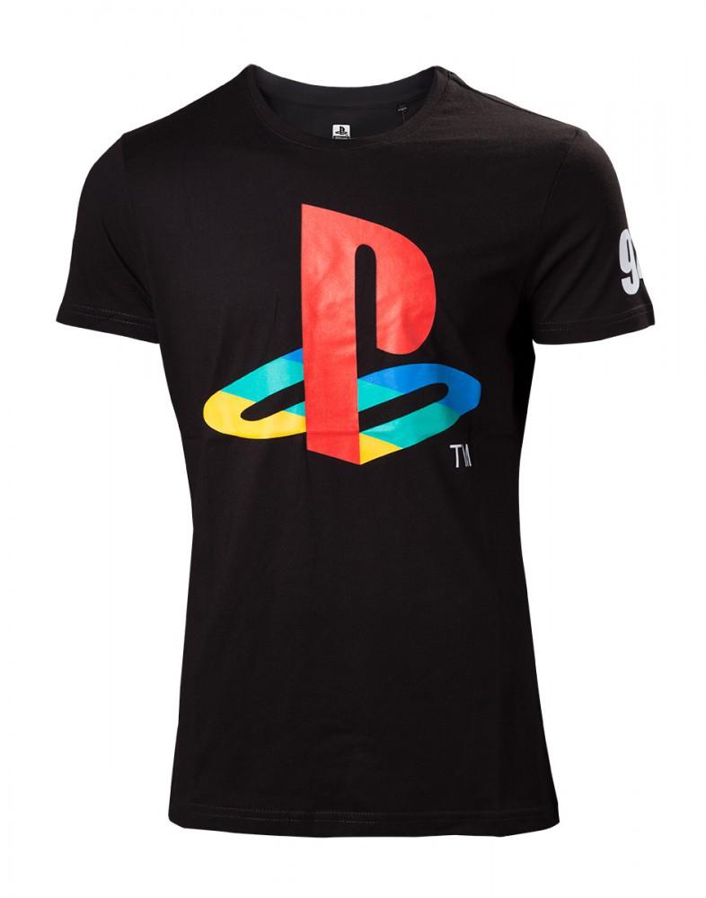 Playstation Classic Logo T-Shirt schwarz S