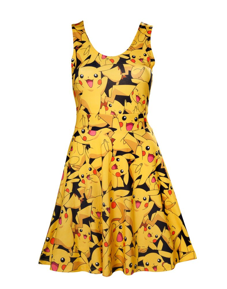 Pokémon - All Over Pikachu Dress M