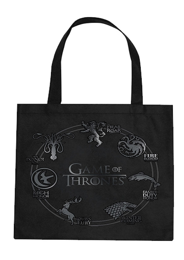 Game of Thrones Tragetasche Silver Sigil