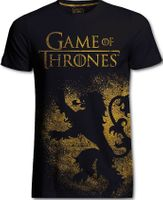 Game Of Thrones T-Shirt Lannister Jumbo Print XL