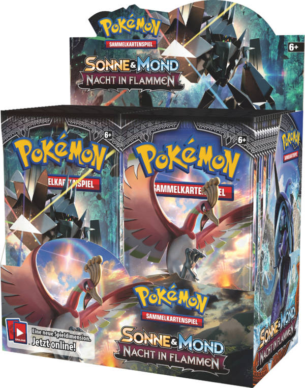 Pokemon Sonne und Mond 03 Display (36 Booster)