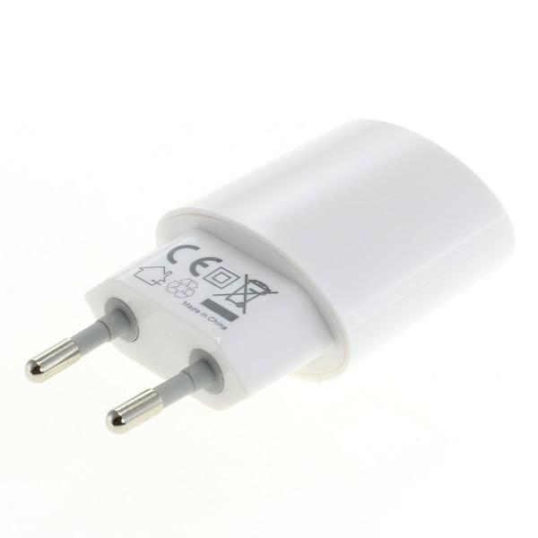 Ladegerät USB Ladeadapter für Smartphone, iPhone, Tablet 2400mAh weiß – Bild 2