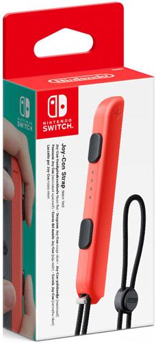 Handgelenksschlaufe Nintendo Joy Con Handgelenksschlaufe Neon-Rot