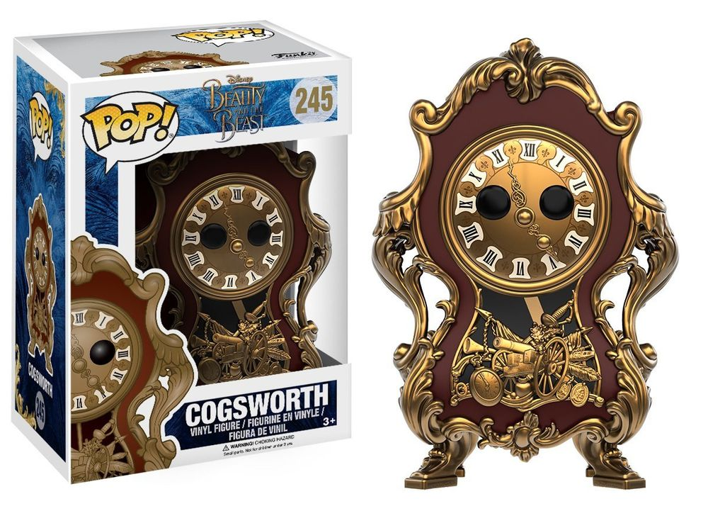 Funko Pop - Disney Beauty and the Beast - Cogsworth