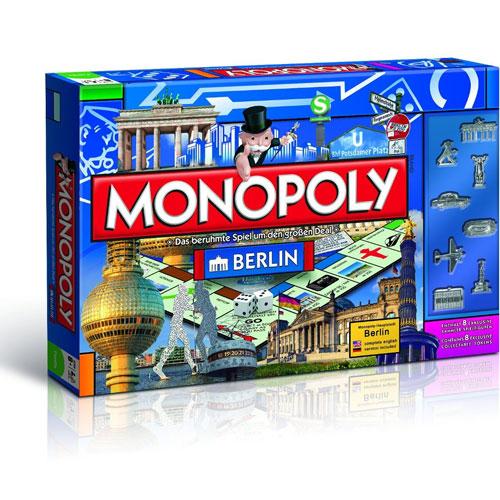 """Monopoly """"Berlin"""" (zweisprachig: DE + EN)"""