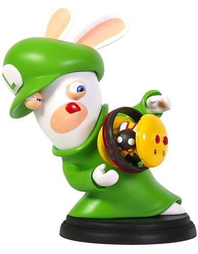 Mario & Rabbids Kingdom Battle Figur Rabbid Luigi (16,5 cm)