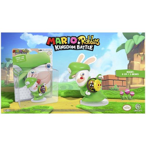 Mario & Rabbids Kingdom Battle Figur Rabbid Luigi (8 cm)