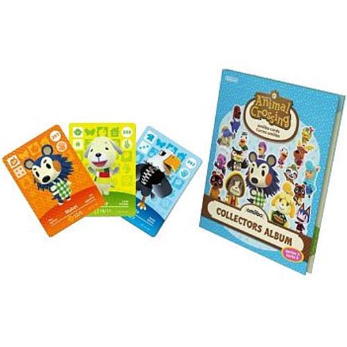 amiibo Karten Sammelalbum 3 Animal Crossing inkl. 3 Karten
