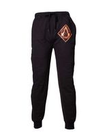 Assassins Creed - Pyjama-Hose mit braun-goldenem Logo - schwarz M