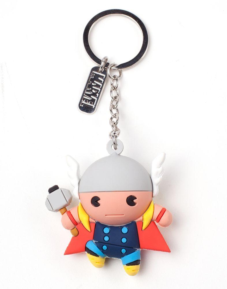 Marvel - Thor 3D Gummi Schlüsselanhänger