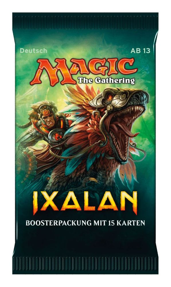 Magic The Gathering - Ixalan Booster Pack (15 Karten) Deutsch