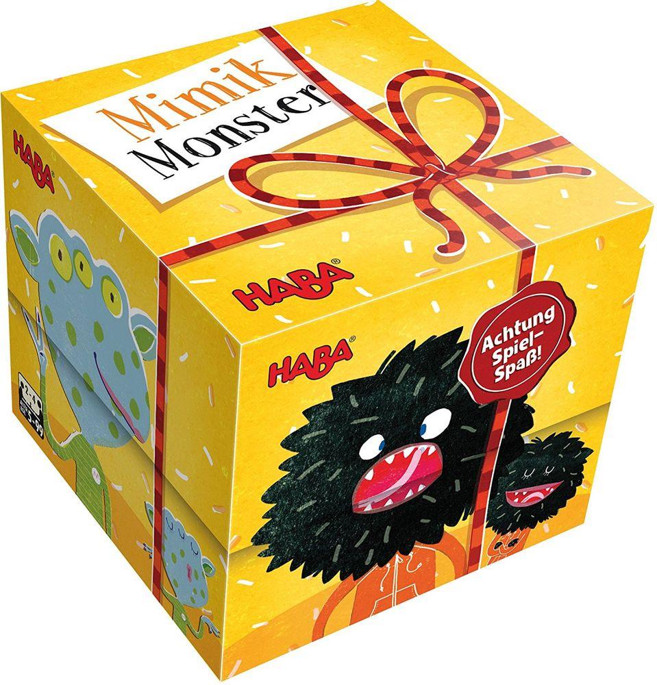 HABA 300610 - Geschenkwürfel - Mimikmonster