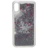 URBAN STYLE Back Cover GLAMOUR für Apple iPhone X - Silver – Bild 2