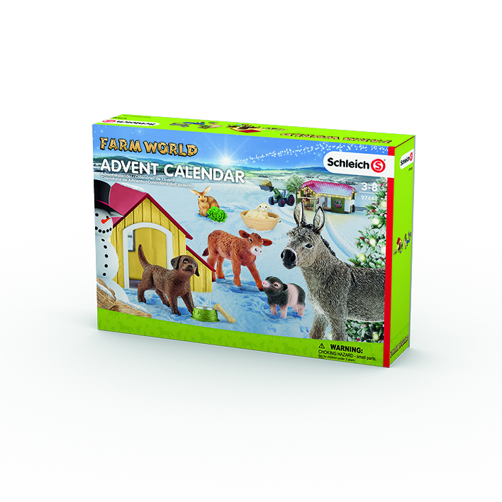 Schleich 97448 - Adventskalender Farm World 2017 – Bild 1