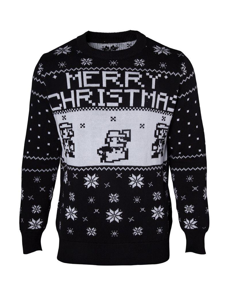 Nintendo - Mario X-mas Sweater Weihnachtspullover 2XL – Bild 1