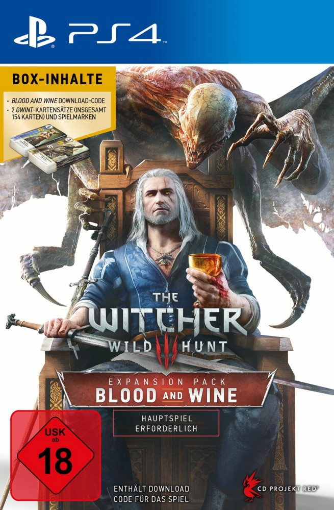 The Witcher 3 - Wilde Jagd: Blood And Wine (Download Code)