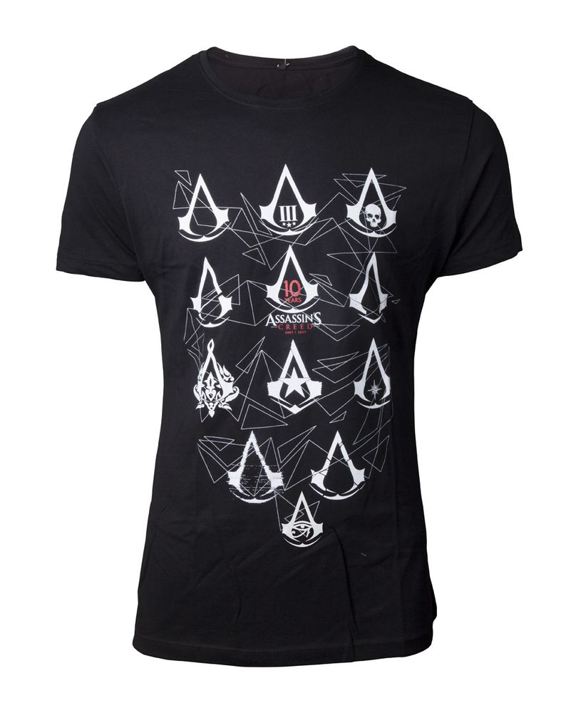 Assassins Creed - 10 Year Anniversary Herren T-Shirt XL – Bild 1