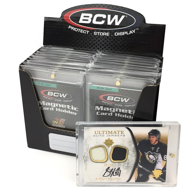BCW Magnetic Card Holder (thick cards, 75 pt)