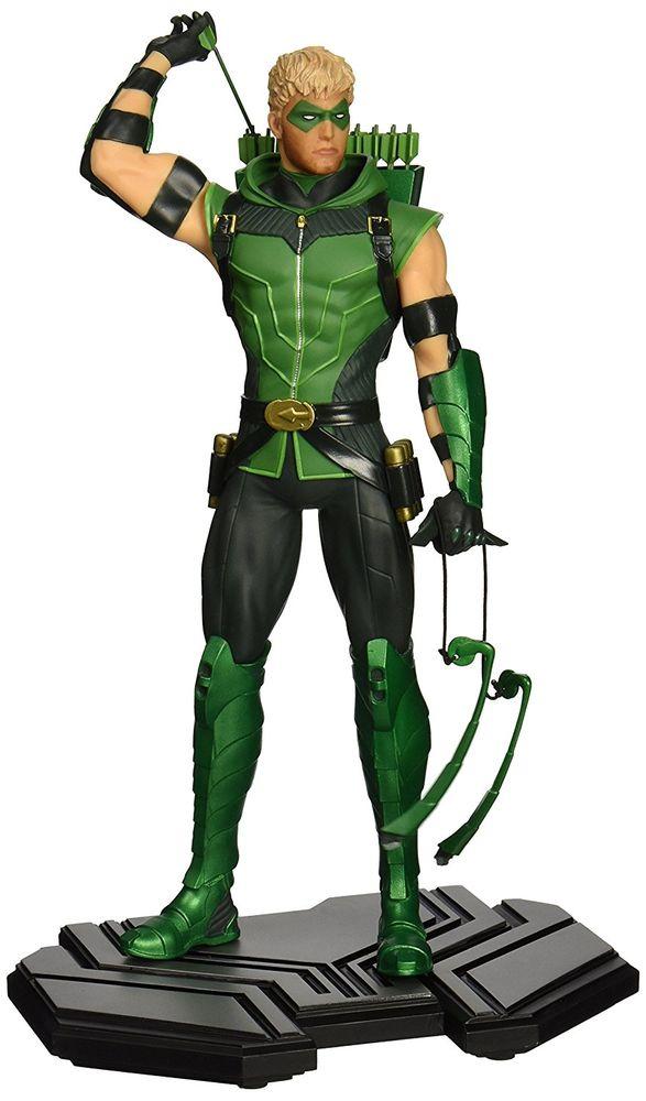 DC Comis Icons - Green Arrow Statue