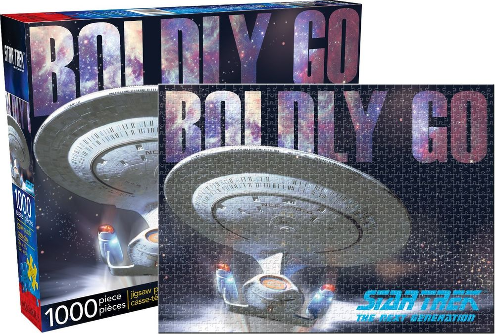 Star Trek The Next Generation - Boldy Go Puzzle