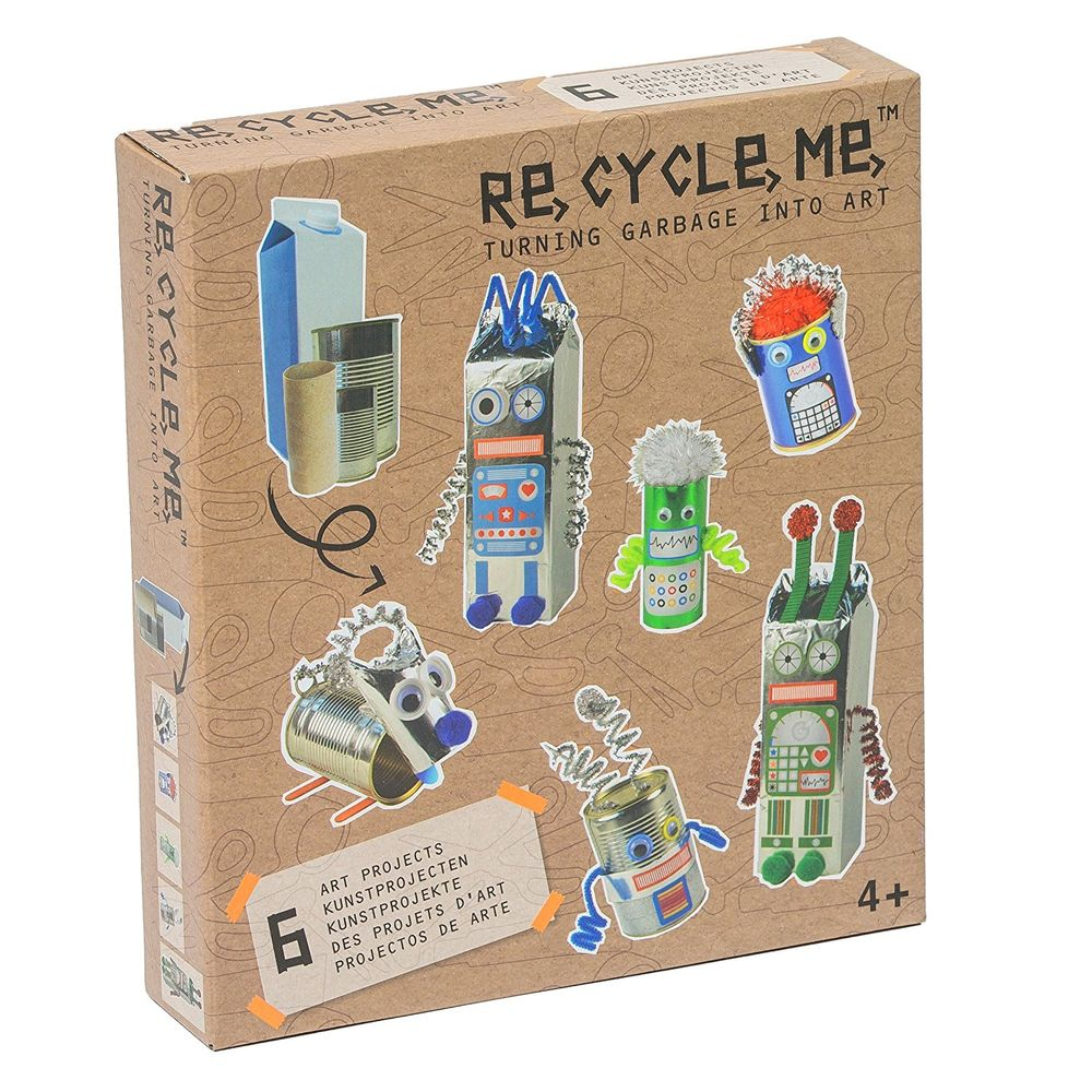 Re-Cycle-Me Roboter Themenbox