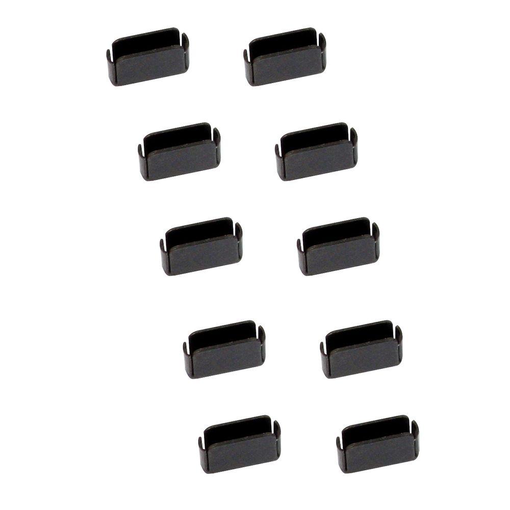 LINDY 40458 USB C Typ Port Schlösser 10er Pack (Erweiterungkit ohne Schlüssel)