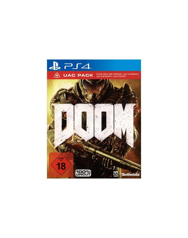 Doom PS-4 D1 UAC Pack inkl. Demon Multiplayer Pack