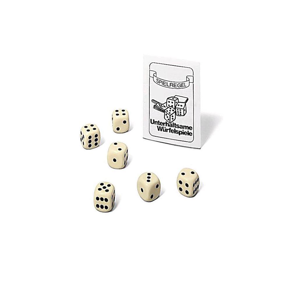 Ravensburger 27094 - 6 Würfel im Beutel