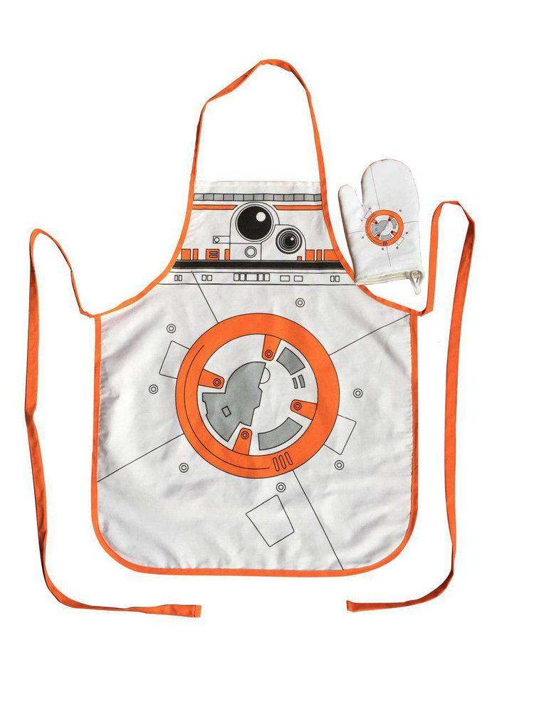Star Wars Kochschürze mit Handschuh BB-8