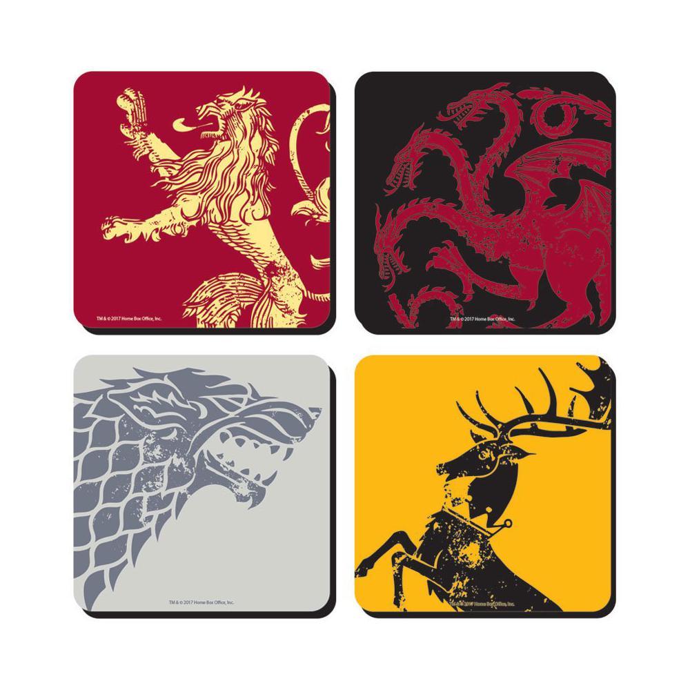 Game Of Thrones Untersetzer 4-er Pack