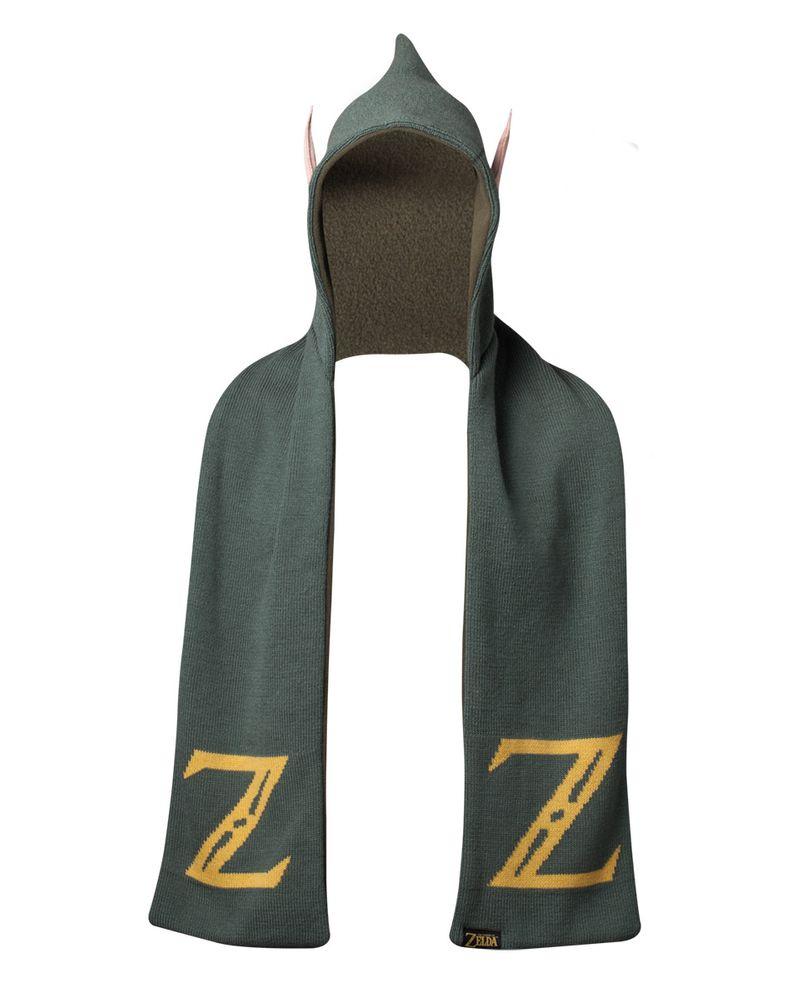 Zelda - Kapuzenschal mit Ohren