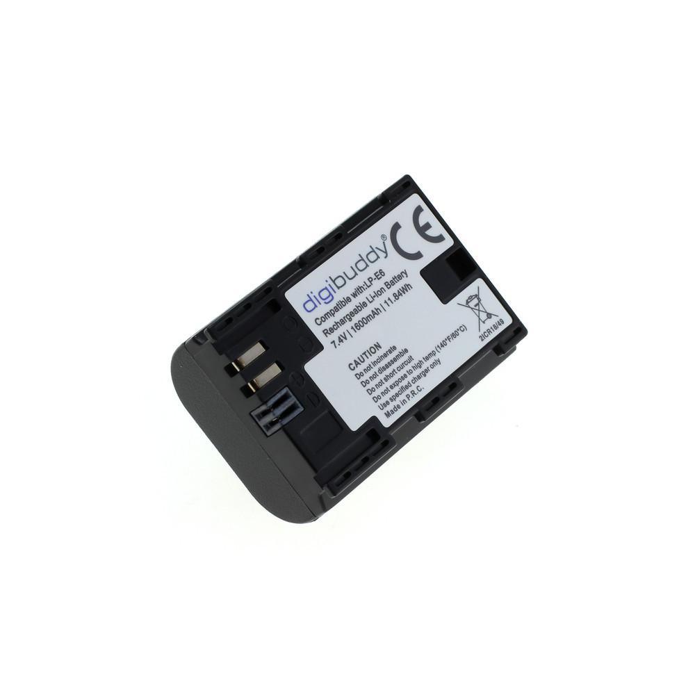 digibuddy Akku kompatibel zu Canon LP-E6 / LP-E6N Li-Ion – Bild 3