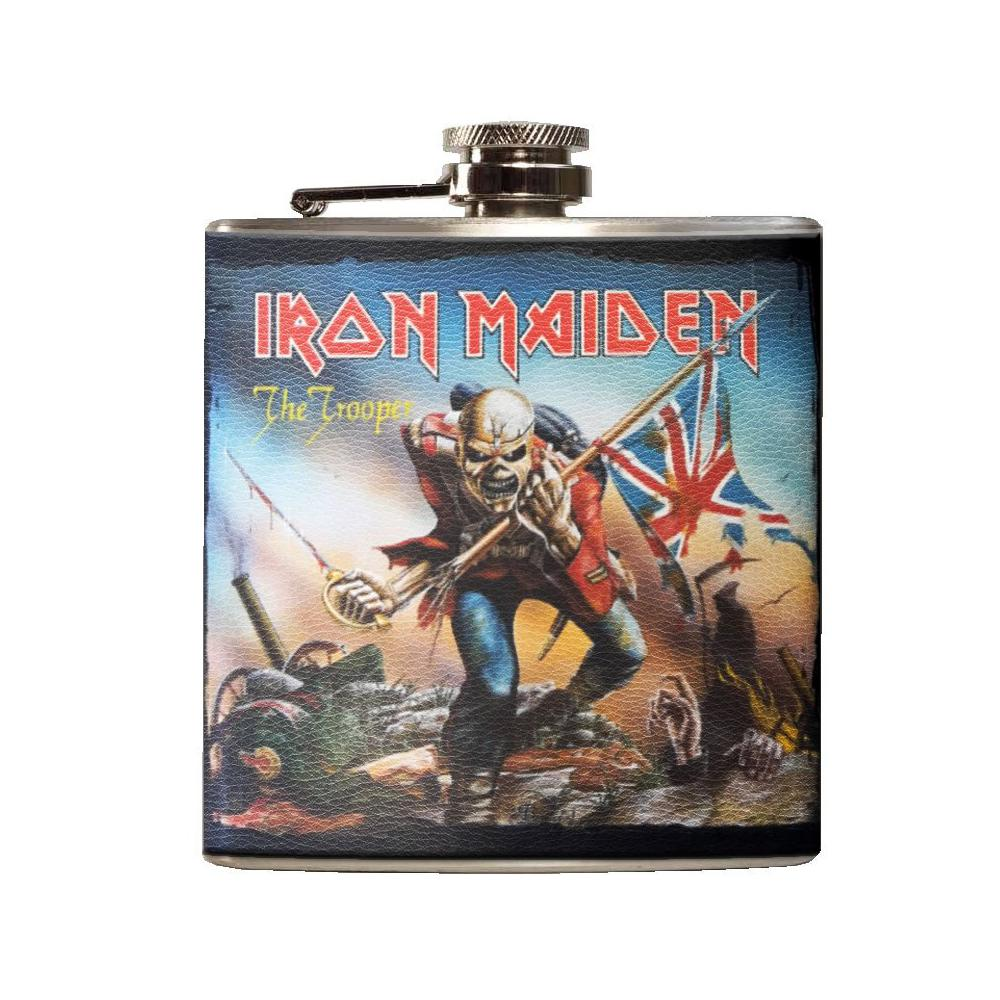Iron Maiden Flachmann The Trooper