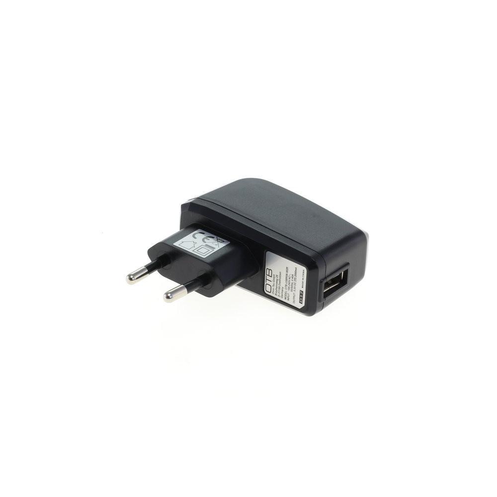 OTB Ladeadapter USB - 2A - schwarz – Bild 2