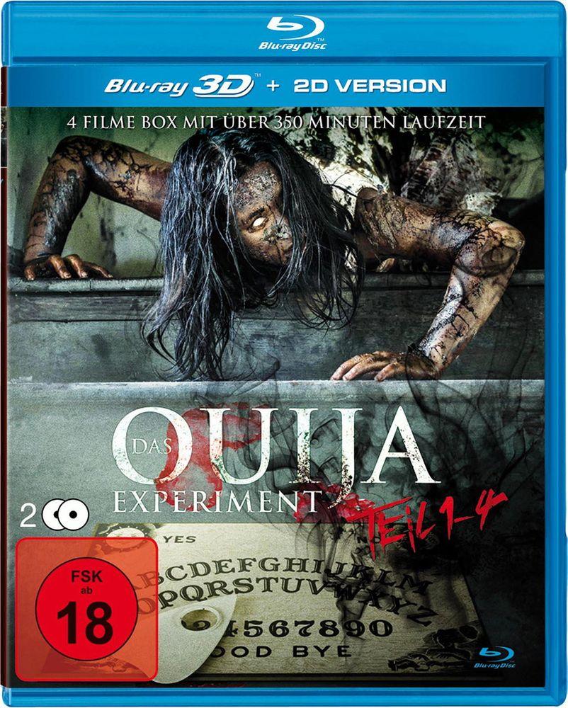 Das Ouija Experiment 1-4 (Blu-ray 3D, 2 Discs)