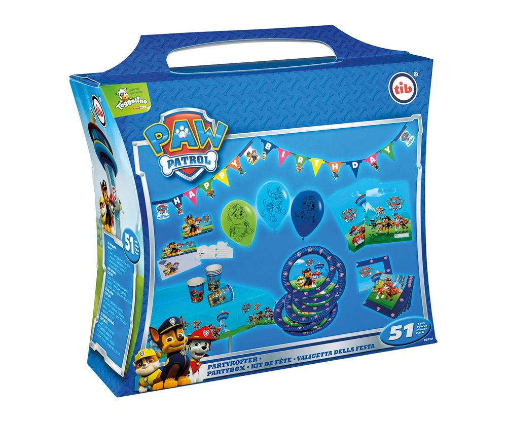 Party-Set - Paw Patrol - 51-teilig
