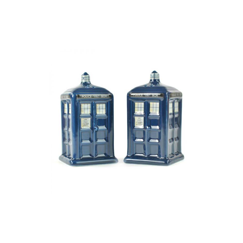 Doctor Who Salz- und Pfefferstreuer Tardis