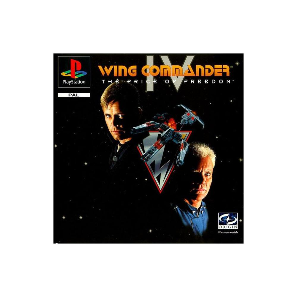 Wing Commander IV: The Price of Freedom [SONY PlayStation / Deutschland]