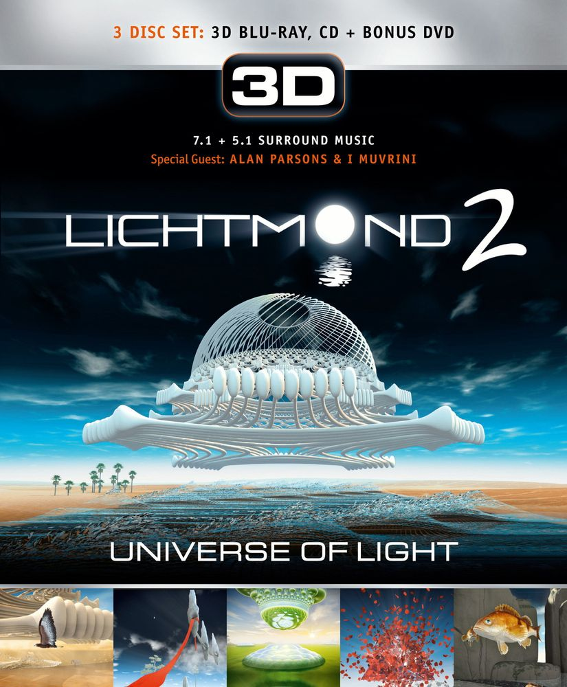 Lichtmond 2 - Universe of Light (Blu-ray 3D, + Bonus-DVD, + Audio-CD)