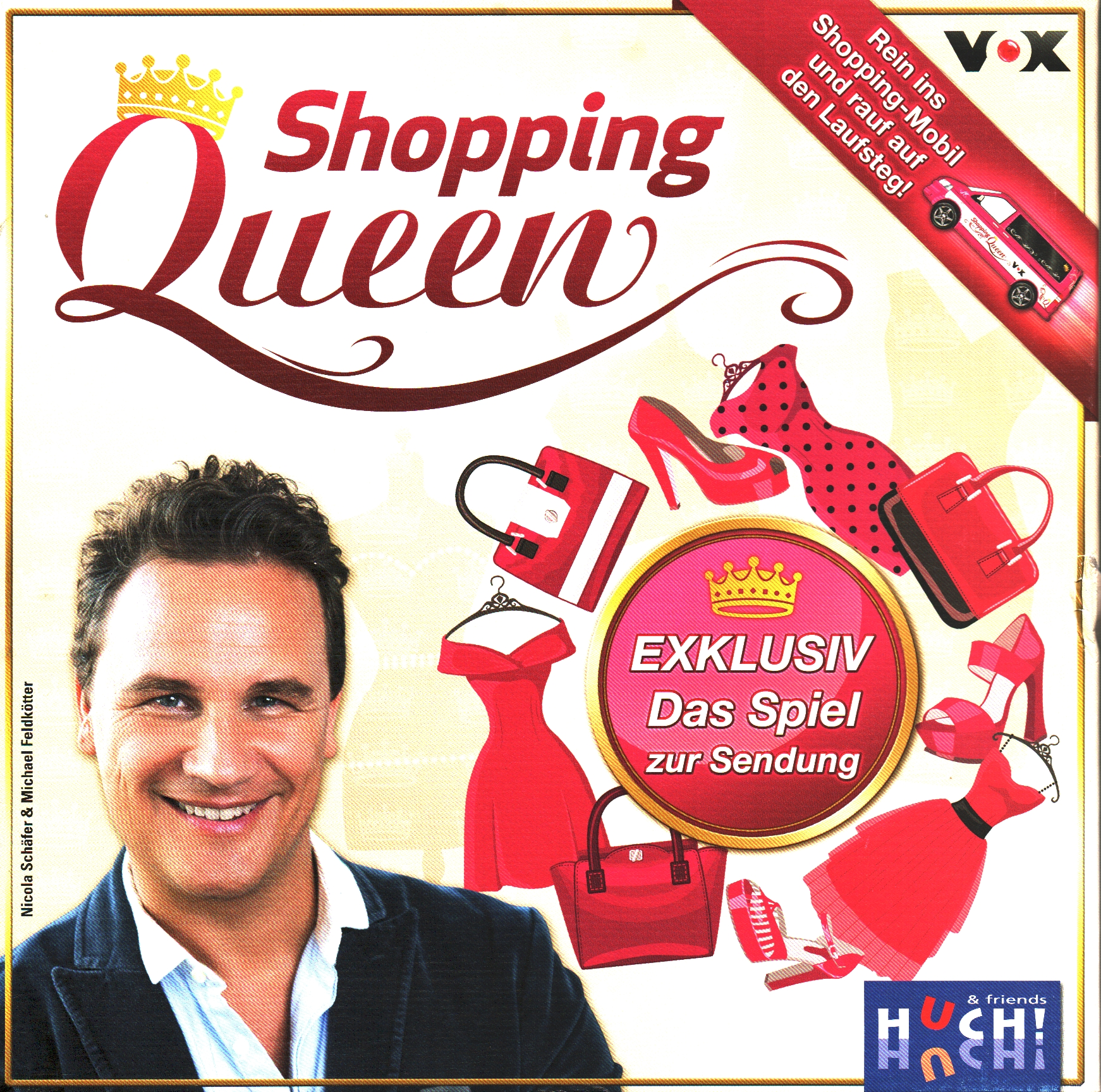 Huch & Friends 878854 - Shopping Queen, Brettspiel (gebraucht)