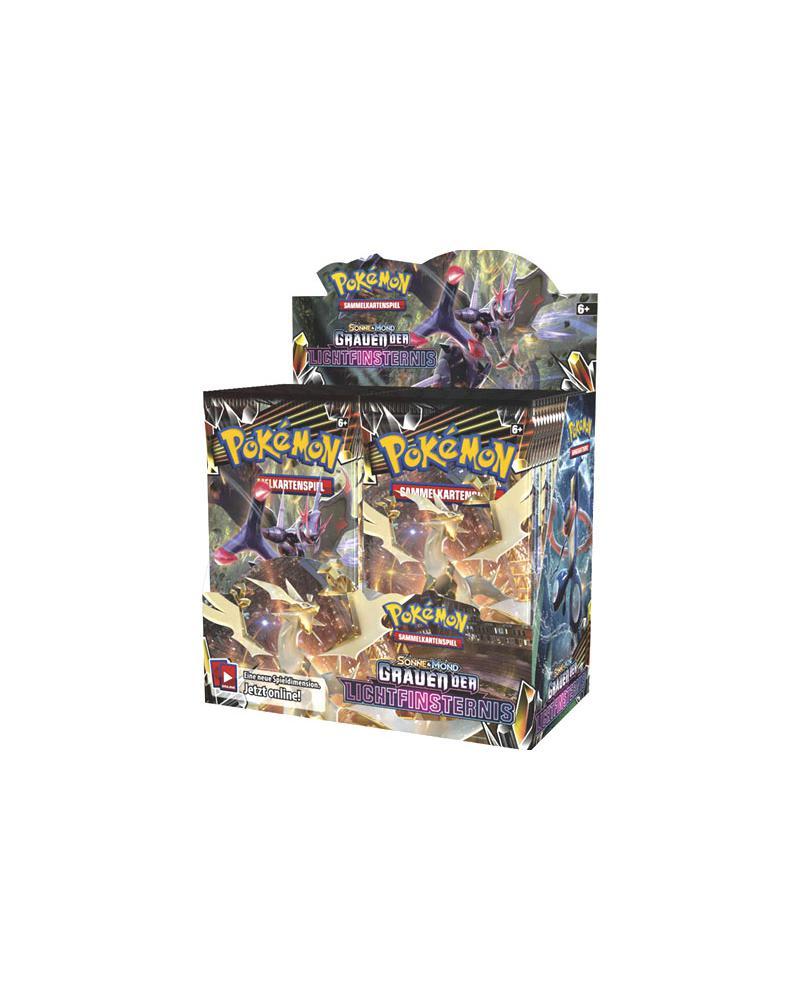 Pokémon- Sonne und Mond 06 - Grauen der Lichtfinsternis Display - 36 Booster im Display
