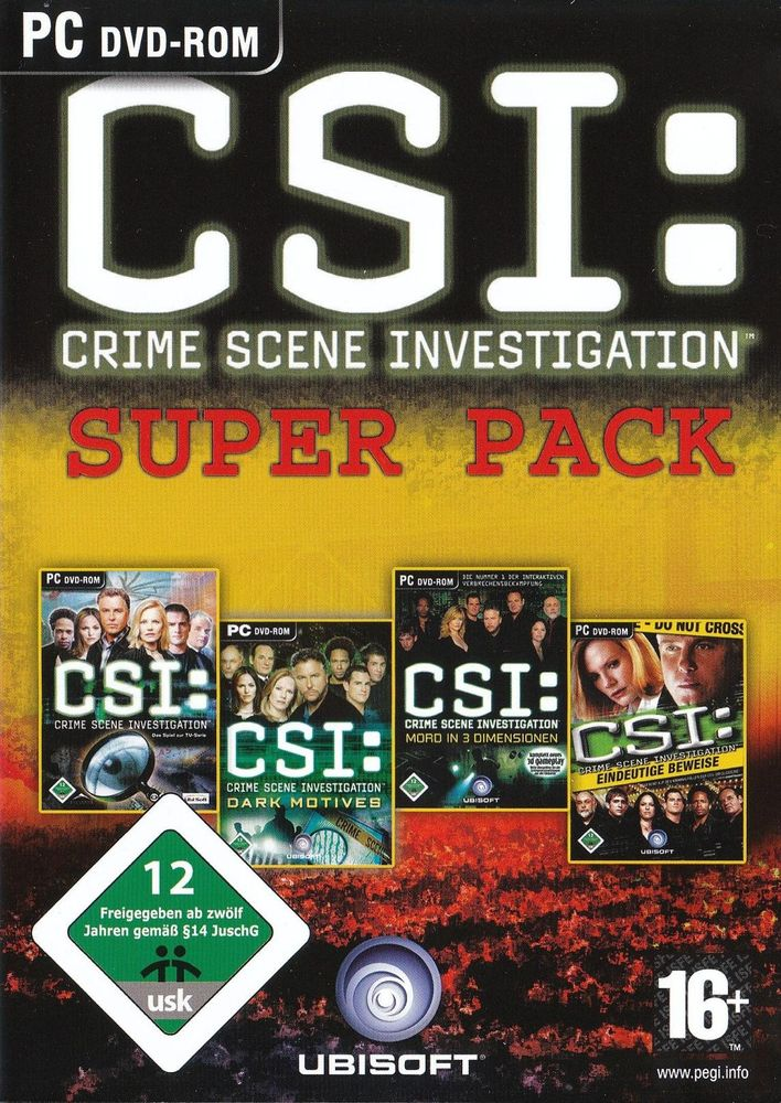 CSI: Super Pack