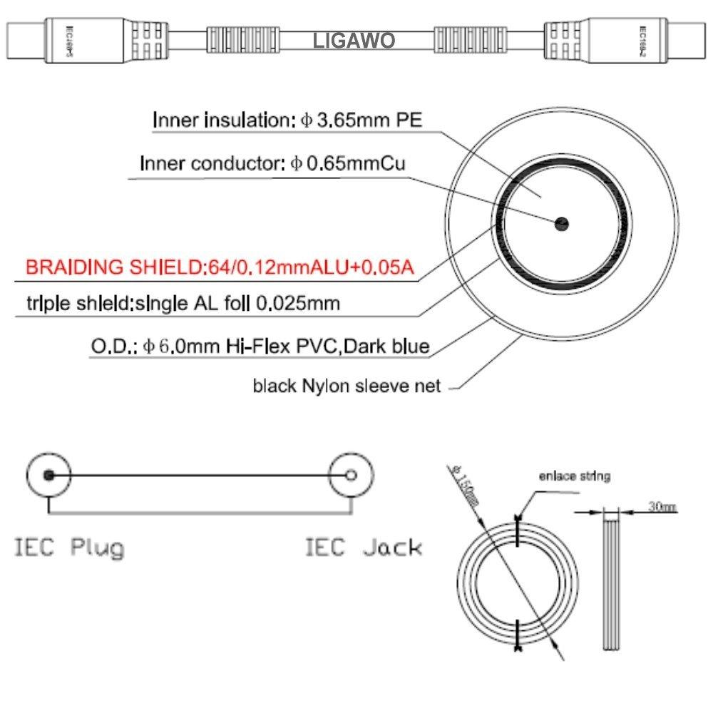 """Ligawo 6540083 """"PREMIUM FLEX"""" Koax Antennenkabel Kabel, 10m schwarz – Bild 2"""